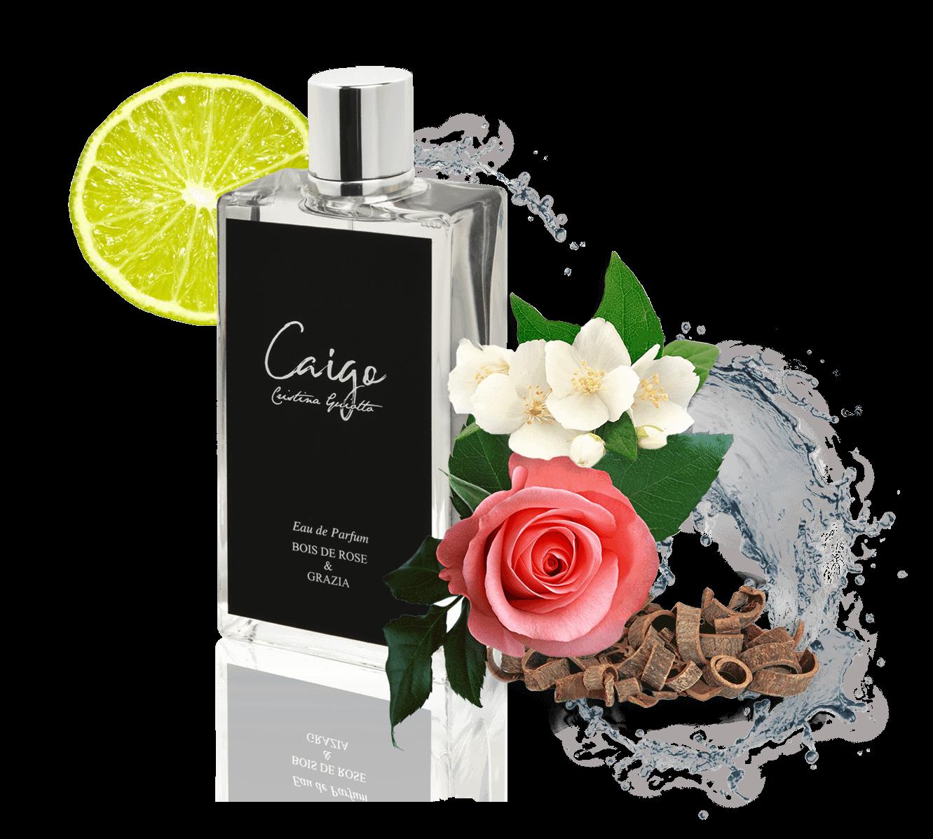 Bois de Rose & Grazia eau de parfums
